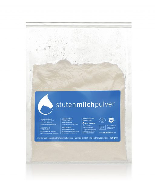 Stutenmilch - complément alimentaire - lait de jument en poudre